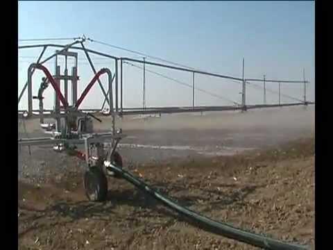 Sular tarım sulama makineleri, Kanatla sulama makina, kanatla sulama makine sistemi
