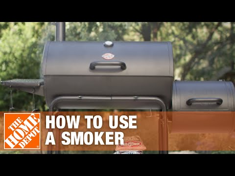 Turn your backyard into a barbecue with a smoker
