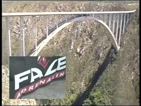 Pozz jumps from Bloukrans Bridge