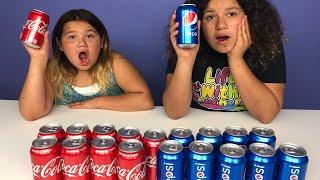 Don't Choose the Wrong COCA COLA VS PEPSI Slime Challenge