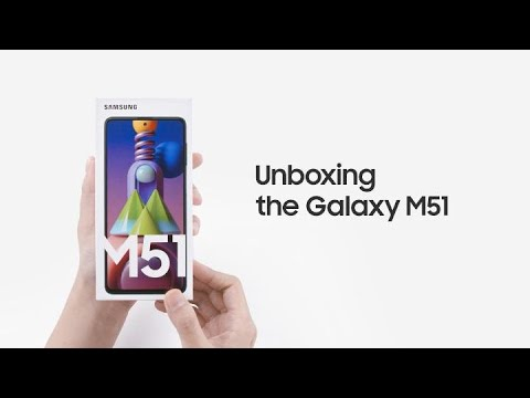 Galaxy M51: Official Unboxing   Samsung