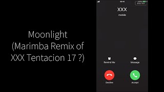 Moonlight (Marimba Remix of XXX Tentacion 17 ?)