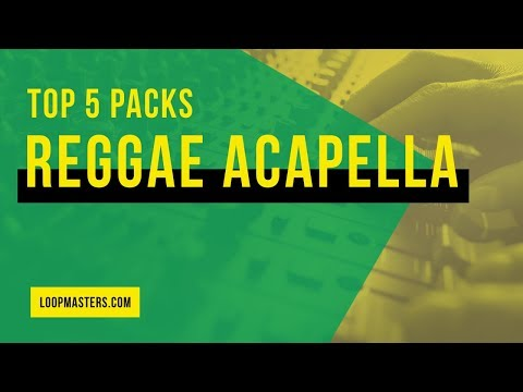 Top 5 | Best Reggae Acapella Vocal Sample Packs | Vocal Stems, Dub, Jungle, Vox Loops, Samples