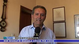 Due scuole di Marsala chiuse per covid