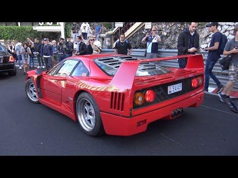 Ferrari F40 w/ LOUD Tubi Exhaust – Acceleration Sounds!