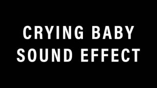 Crying Baby Sound Effect