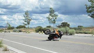 KTM 450 On Street Riding 2015