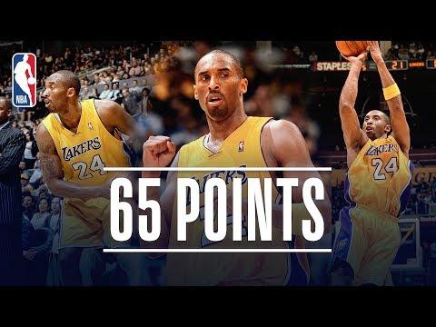 Kobe Bryant's EPIC 65 Point Performance   March 16, 2007