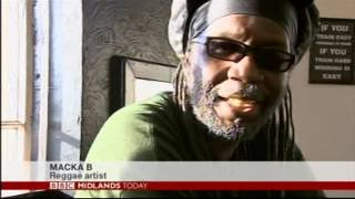 Wolverhampton: Reggae artist - Macka B spread the word for good health