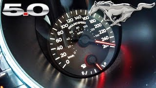 Ford Mustang GT 2017 TOP SPEED & ACCELERATION by AutoTopNL