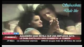Alejandro Sanz revela que una emplada suya le daba pastillas para dormir en la comida