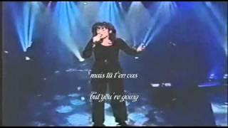 Lara Fabian - Tu T'en Vas - avec paroles(with subtitles)