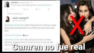 """""""Camren Nunca Fue Real"""" Según Lauren 😐"""