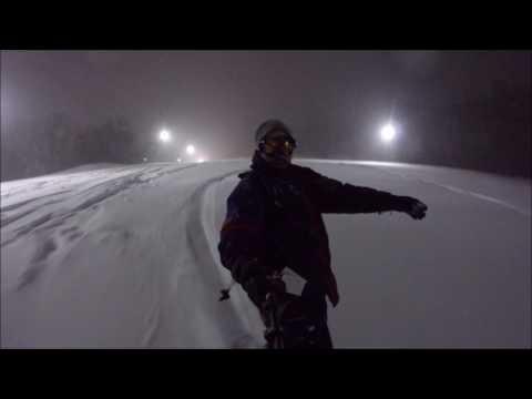 Powder Night at Nordic Valley
