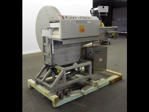 Used- Carruthers Auto Slicer/Dicer with Drop Chute - stock # 48428002