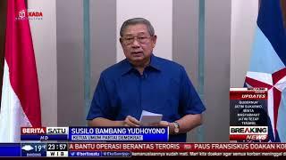 Pernyataan SBY Terkait Teror Bom Gereja di Surabaya