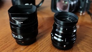 Fuji XF 35mm f1.4 vs XF 35mm f2
