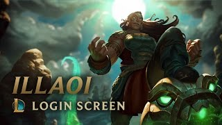 Illaoi, the Kraken Priestess | Login Screen - League of Legends