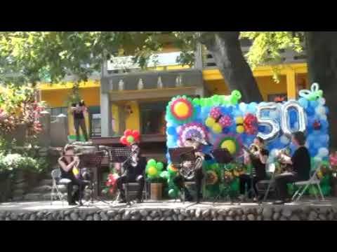 1061105國立台灣交響樂團在文山國小的安可曲 - YouTube
