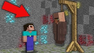 Minecraft NOOB vs PRO : WHAT HAPPENED TO THIS VILLAGER? Challenge 100% trolling