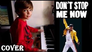 Queen Don t stop me now Cover Niño de 6 años