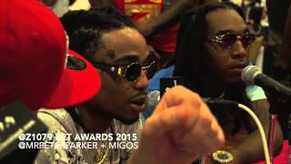 Migos Live behind the scenes BET Awards 2015 weekend