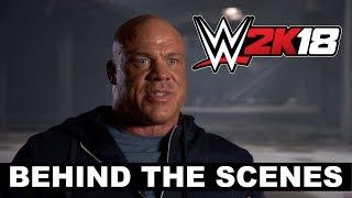 Así se hizo el tráiler de WWE 2K18 con Kurt Angle