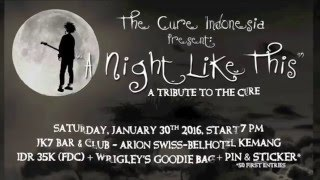 A Night Like This - A Tribute to The Cure - Teaser