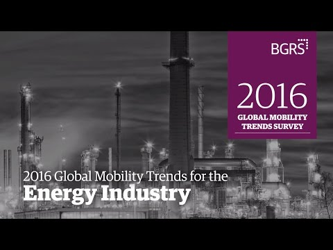 2016 Global Mobility Trends - Energy