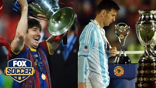 Club vs. Country - Lionel Messi in numbers