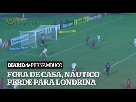 Em jogo fraco tecnicamente, N�utico volta a pecar nas finaliza��es e perde para o Londrina