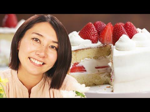 How Rie Makes A Strawberry Shortcake ? Tasty