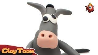 """Eeyore"" Donkey | Polymer clay tutorial"