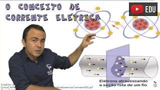 O conceito de Corrente Elétrica