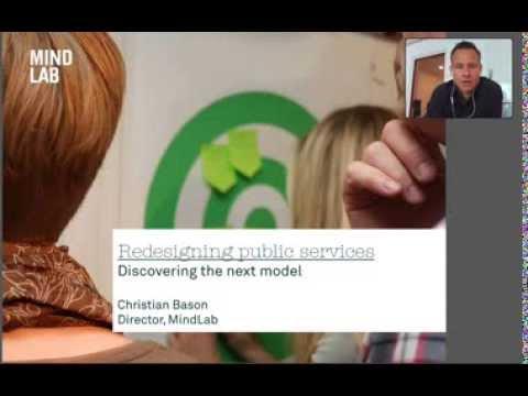 Christian Bason - Design på policynivå