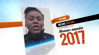 Melina Ondjani et CultureGospel.com vous souhaitent une bonne année 2017