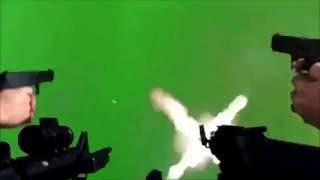 MLG - Guns Shooting - Sound Effect + Green Screen