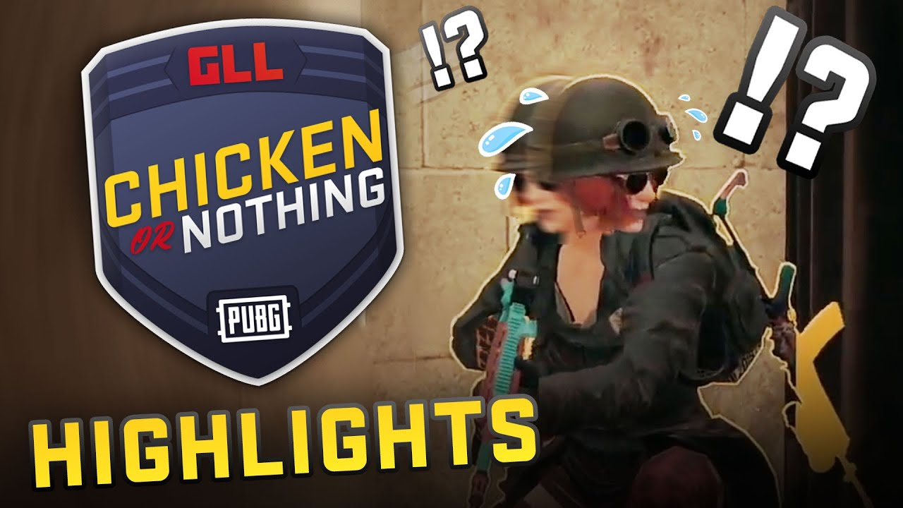 GLLApex - PUBG Hide & Seek!? | GLL Chicken Dinner Or Nothing W3 - Streamer Tournament Highlights