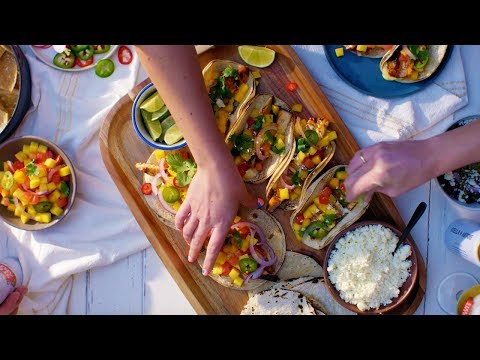 Chef Esdras Ochoa Makes Grilled Swordfish Tacos | Tastemade Collaborations