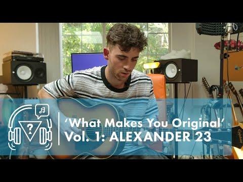 #GUESSOriginals x Interscope Present 'What Makes You Original' Vol. 1: Alexander 23