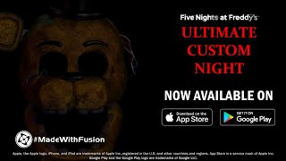 Five Nights at Freddy\'s mashup Ultimate Custom Night coming to Switch next week