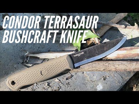 NEW Condor Terrasaur Bushcraft Knife: Mora Garberg Competition?  Under $50, 1095 Steel, Scandi Grind