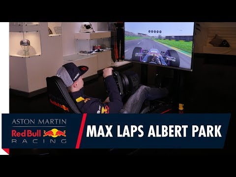Max Verstappen drives a lap of Albert Park on F1 2017