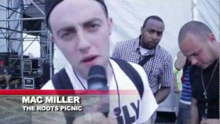 "MAC MILLER ""DONALD TRUMP"" LIVE @ THE ROOTS PICNIC: BLOWHIPHOPTV.COM"