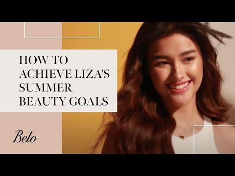 How to Achieve Liza Soberano's Summer Beauty Goals