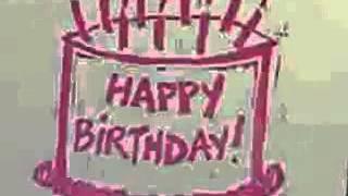 Happy Birthday whistle ...