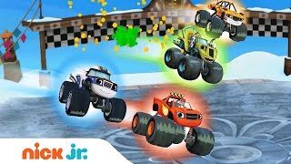 Blaze and the Monster Machines 'Race to the Top of the World' Official Game Trailer | Nick Jr.
