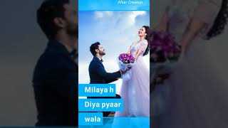 Full screen, khuda ki inayat hai hame jo milaya hai,whatsapp status