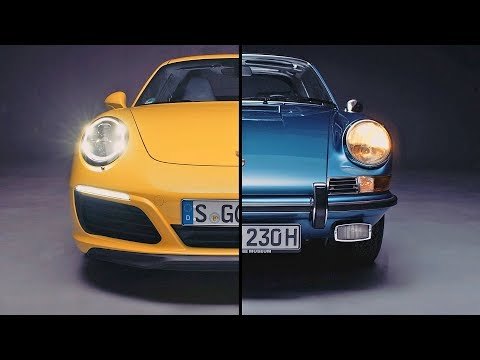 Porsche Evolution ? Porsche 911 (2017) vs. Porsche 911 (1970)