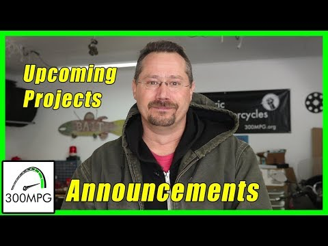 Announcements and Upcoming Projects!
